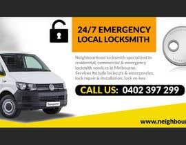 Číslo 21 pro uživatele Create pictures and banner for a locksmith website od uživatele d3stin