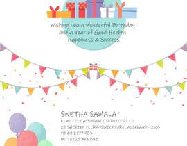 nº 7 pour BIRTHDAY GREETING CARD PROFESSIONAL par sudhalottos