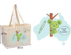 #32 for Design Reusable Shopping Bag af dinahaqf95