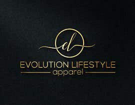 #54 for Evolution Lifestyle Apparel represents a line of clothing and accesories by designdesk36