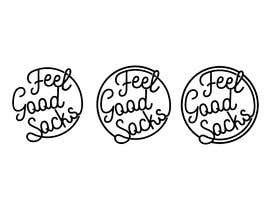 #204 para 'Feel Good Socks' Logo Design por amrhmdy
