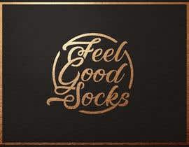 #210 para 'Feel Good Socks' Logo Design por amrhmdy