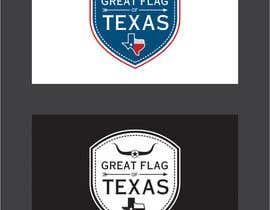 nipen31d tarafından Design a Logo for Great Flag of Texas için no 60