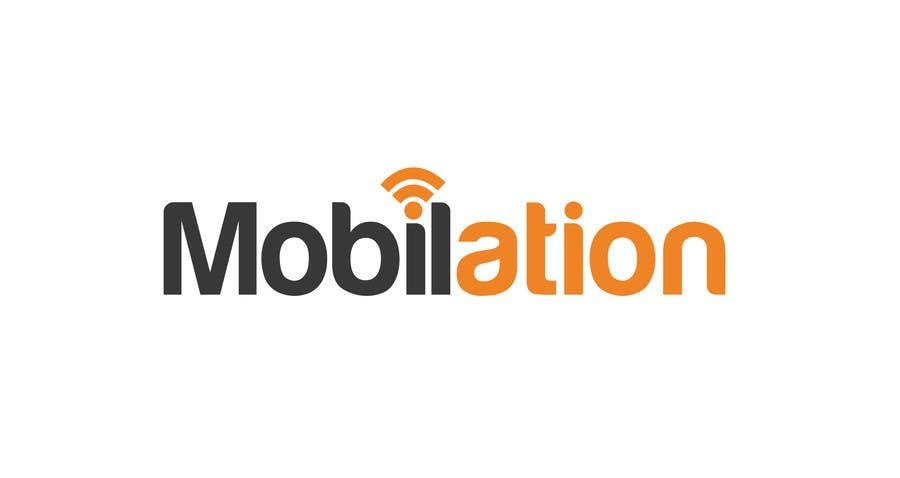 Penyertaan Peraduan #                                        14                                      untuk                                         Logo Design for Mobilation