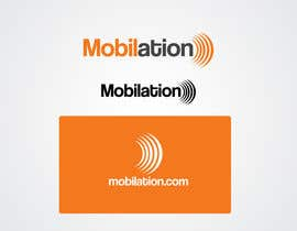 nº 115 pour Logo Design for Mobilation par IzzDesigner