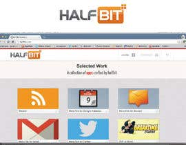 #226 para Logo Design for HalfBit por winarto2012