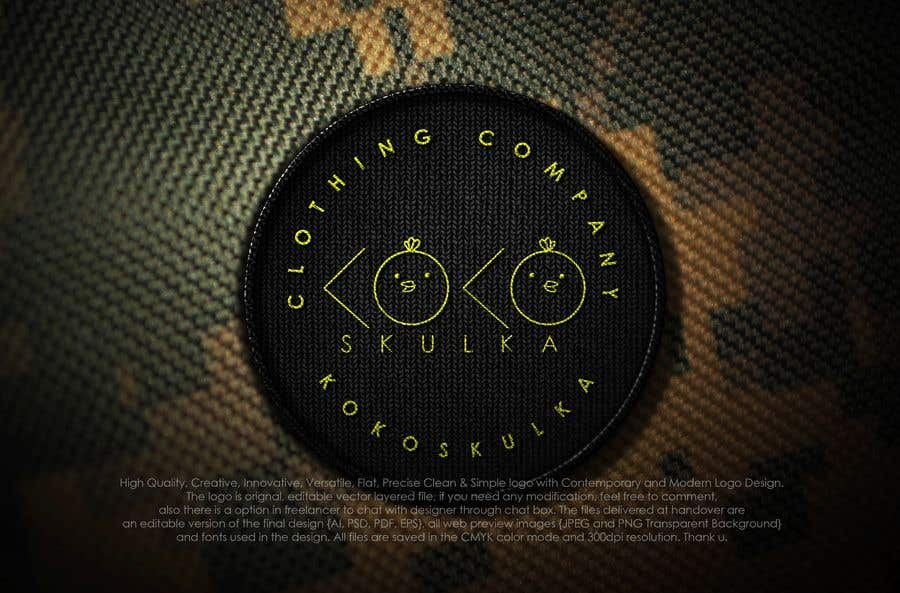 Kilpailutyö #128 kilpailussa Logo design - online store KoKoszulka