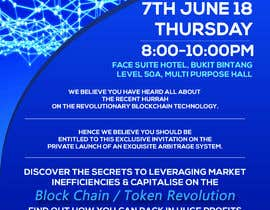 #23 for Design an Invitation Card for a Cryptocurrency Event by LamiyaMeem