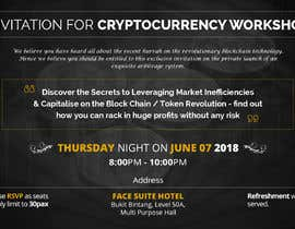 #21 for Design an Invitation Card for a Cryptocurrency Event by csatya