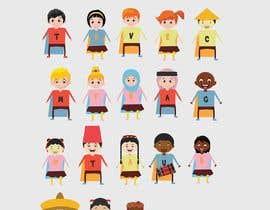 Nro 5 kilpailuun Illustration of 48 avatars for edutech game käyttäjältä leandeganos