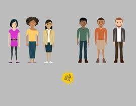 Nro 29 kilpailuun Illustration of 48 avatars for edutech game käyttäjältä og718