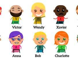 Nro 32 kilpailuun Illustration of 48 avatars for edutech game käyttäjältä CiroDavid