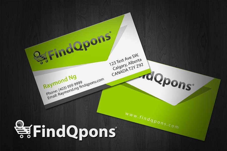 Contest Entry #                                        81                                      for                                         Business Card Design for FindQpons.com