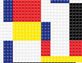 #11 for Design a poster - tetris by littlenaka