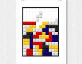#7 for Design a poster - tetris by ekodamarulloh