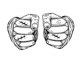 nº 24 pour Illustrate Fists - Boxing Fist with Hand Wraps par lebest