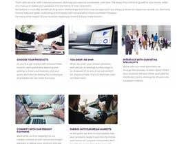 #7 for Photoshop design for a finance website by apekshaashu11