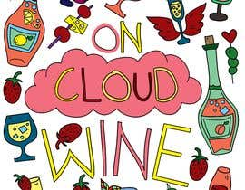 #7 for On Cloud Wine Coloring Book Covers af ashleylytle13