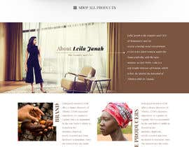 nº 26 pour Homepage Redesign for Luxury Skincare Brand par greenarrowinfo