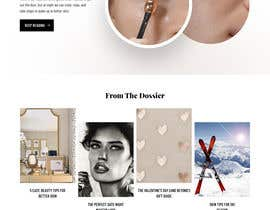 nº 42 pour Homepage Redesign for Luxury Skincare Brand par nizagen