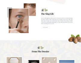 nº 43 pour Homepage Redesign for Luxury Skincare Brand par zaxsol