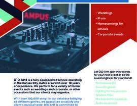 #1 for Advertisement  brochure for D1D Artt Entertainment by suhanattavar