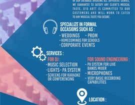 #5 for Advertisement  brochure for D1D Artt Entertainment by DiasFM