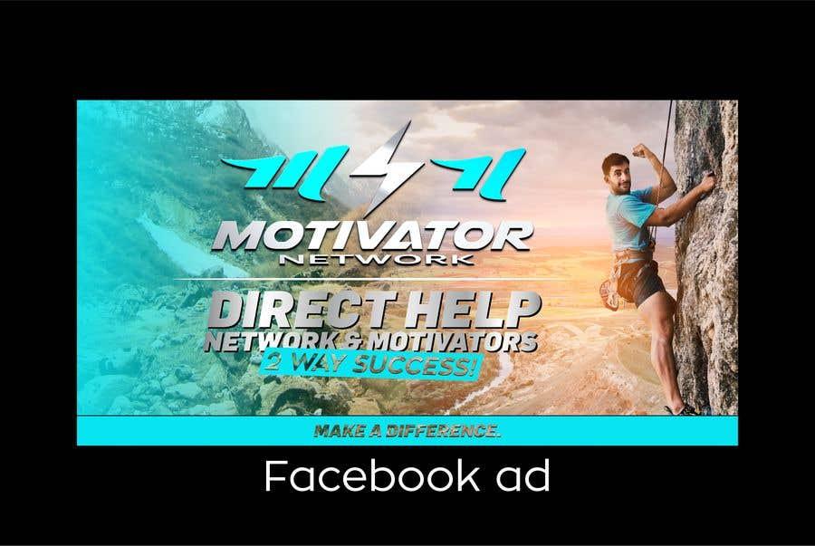 Kilpailutyö #45 kilpailussa Design a Banner - Motivator Network