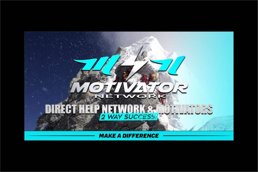 Kilpailutyö #55 kilpailussa Design a Banner - Motivator Network
