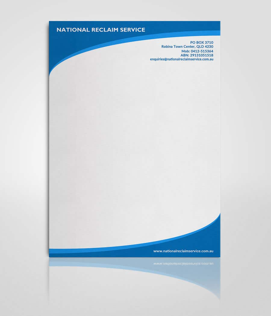Entry 18 by mehfuz780 for design a business letterhead template in contest entry 18 for design a business letterhead template in microsoft word 2007 accmission Image collections