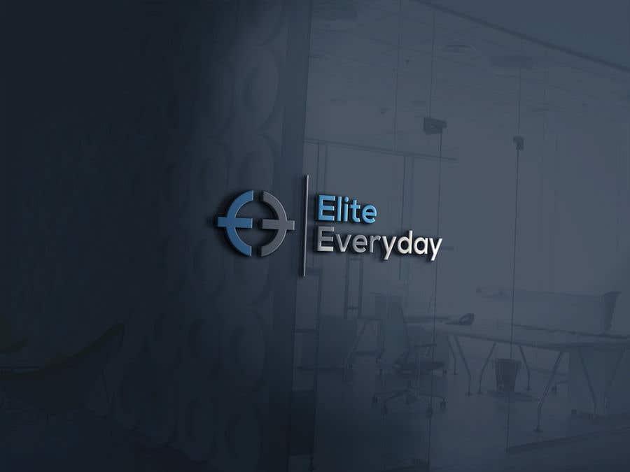 Penyertaan Peraduan #322 untuk Logo for Elite Everyday