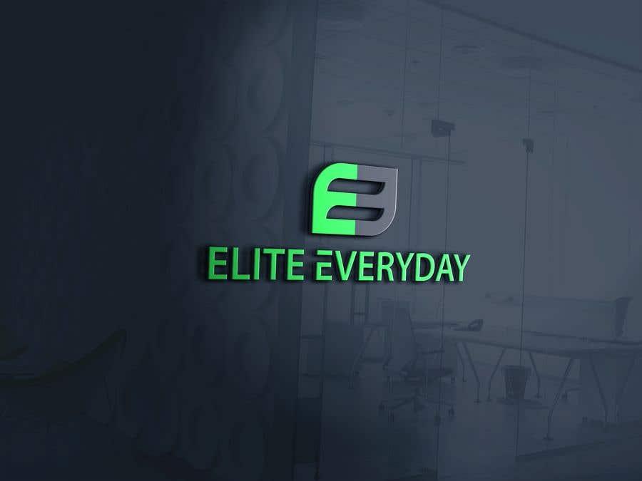 Penyertaan Peraduan #270 untuk Logo for Elite Everyday
