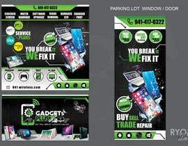 #23 для Store window designs від ryomboxstudio