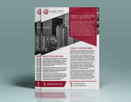 nº 25 pour Design a Flyer to be used by a financial and commercial real estate company par mdhedayetullah