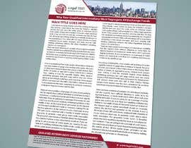 #111 para Design a Flyer to be used by a financial and commercial real estate company de bachchubecks