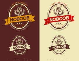 #125 para Design a Logo for a new craft brew company called NOBOOB de reyryu19