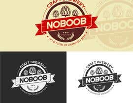 #159 para Design a Logo for a new craft brew company called NOBOOB de reyryu19