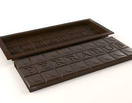 #8 for Need an original, unique 3d model and sketch of a chocolate bar mould which is designed from ground up and exclusive to our brand. af MoyDesign