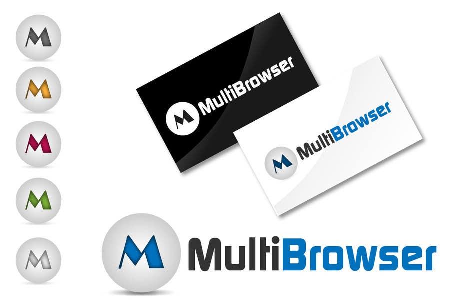 "#435 for Logo Design for ""MultiBrowser"" by akshaydesai"