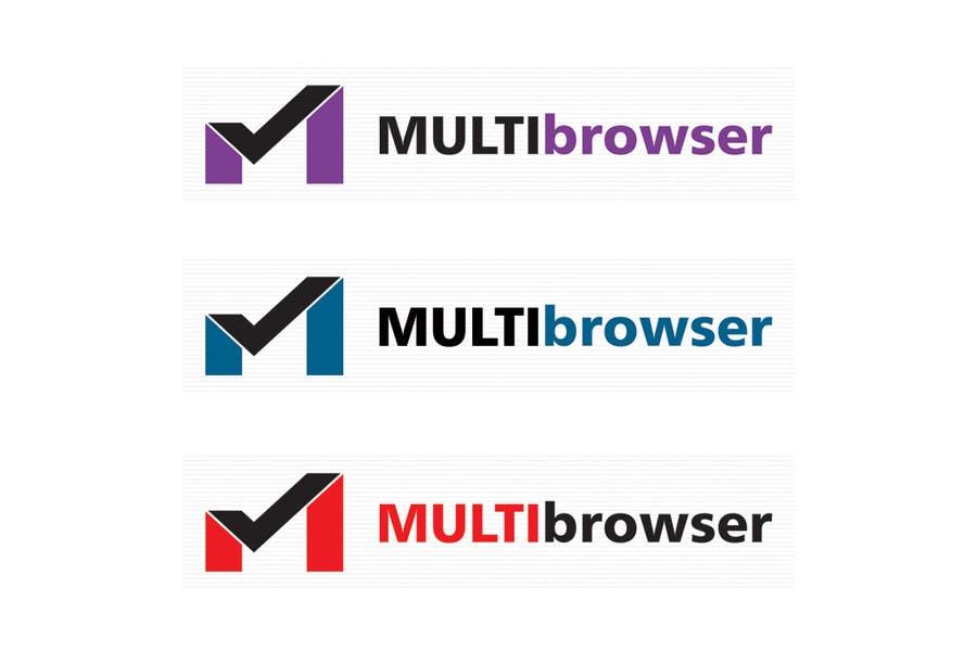 "#409 for Logo Design for ""MultiBrowser"" by bpositive4everh"