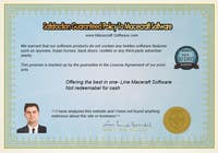 Contest Entry #5 for Website Certificate Design for Macecraft Software