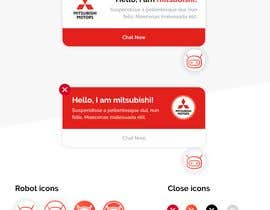 #103 for Web chat widget preview message design by hejven