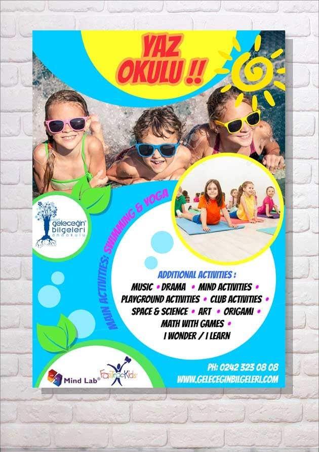 Конкурсная заявка №24 для Design an Advertisement about Summer School for Preschoolers