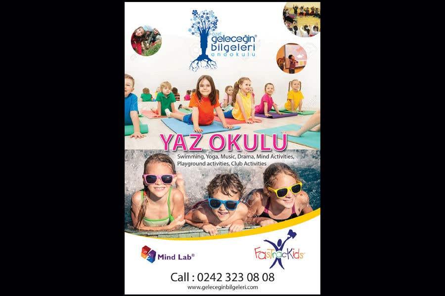Конкурсная заявка №14 для Design an Advertisement about Summer School for Preschoolers