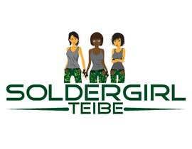 #39 for Logo for Facebook group page-Soldiergirl Tribe af Design4ink