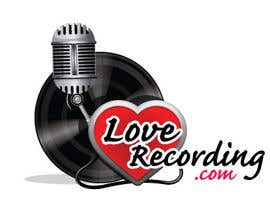 #20 para Logo Design for LoveRecording.com por royind