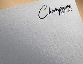 #625 for Design a Logo 'Champions Sweat' by rdxdesign720