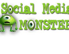 nº 44 pour Graphic Design for The Social Media Monster par kalderon
