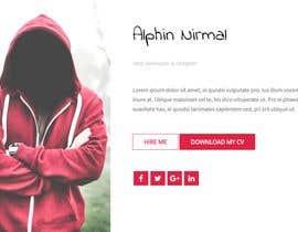 #33 for A website for personal portfolio by alphinnirmal