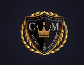 #1 for This logo in 3d in gold and black with a golden crown on top. All written on sample legible and necessary. by AsmMitul